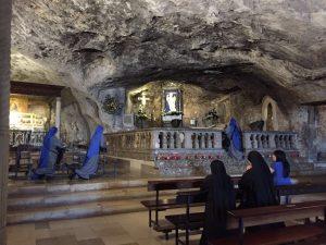 Servidoras-Conversano-fin-ejercicios-espirituales-peregrinación-San-Miguel