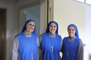 From left to right: M. Mercy, M. Corredentora, and M. Sacred Heart